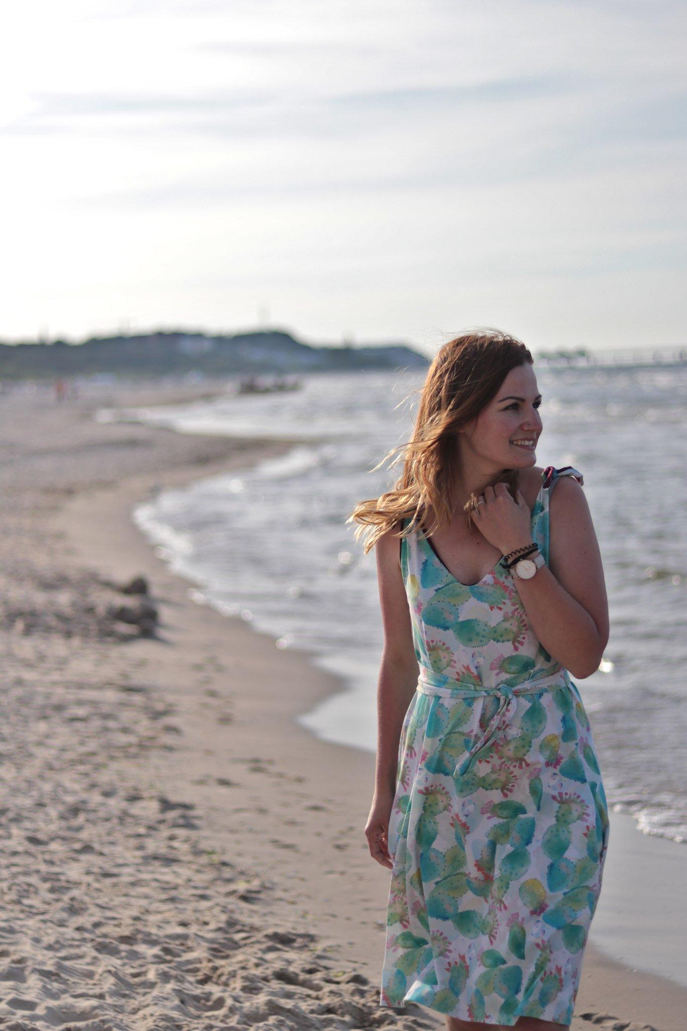 Schnittmuster Kleid Sommer