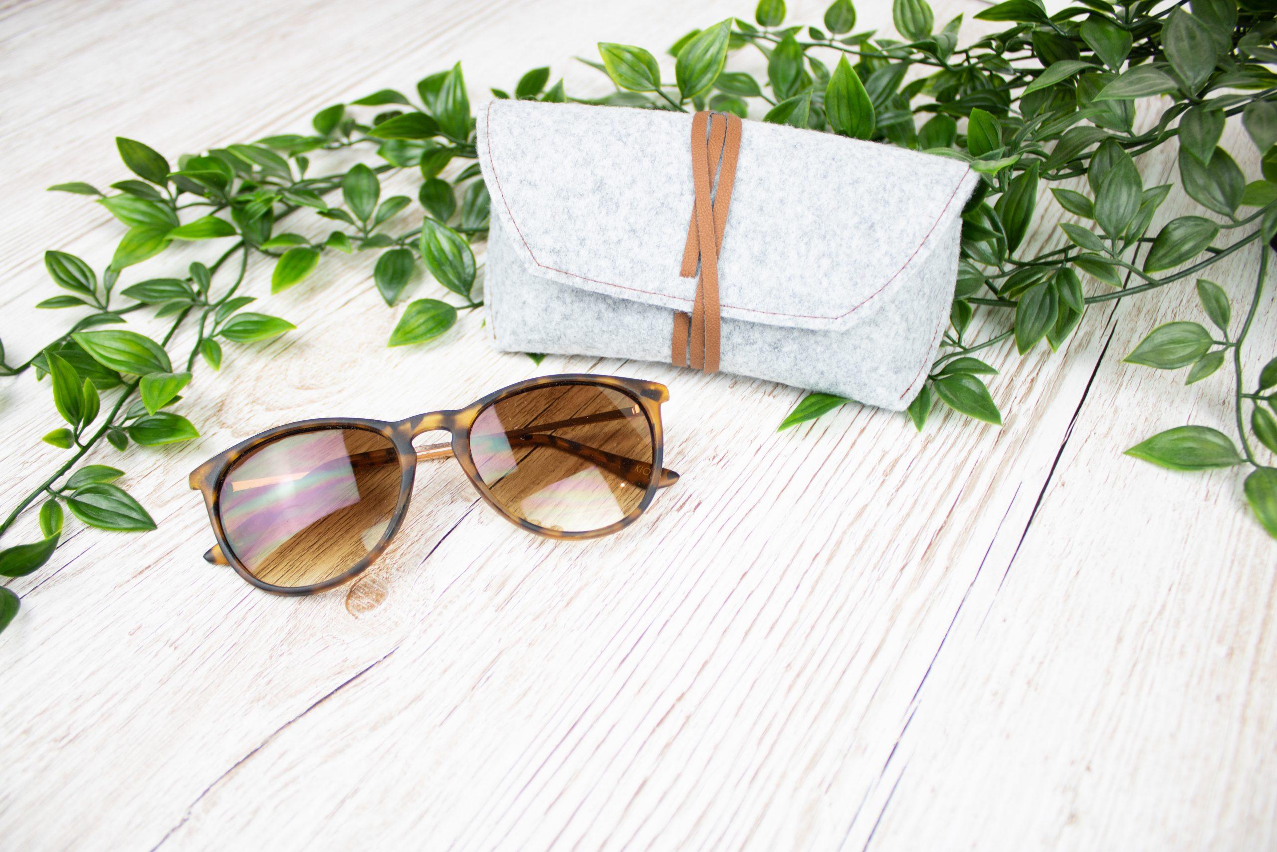 DIY Sonnenbrillenetui nähen machen