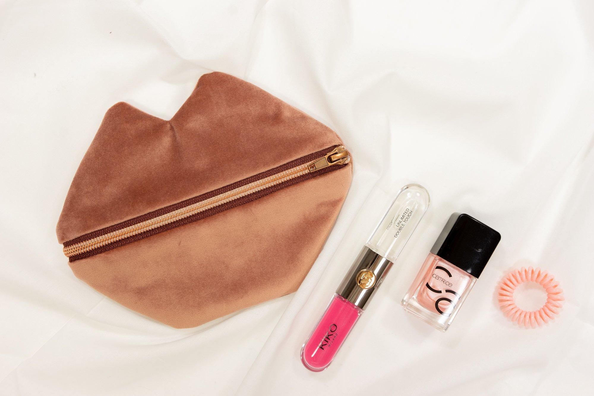 DIY kleine Kosmetiktasche naehen