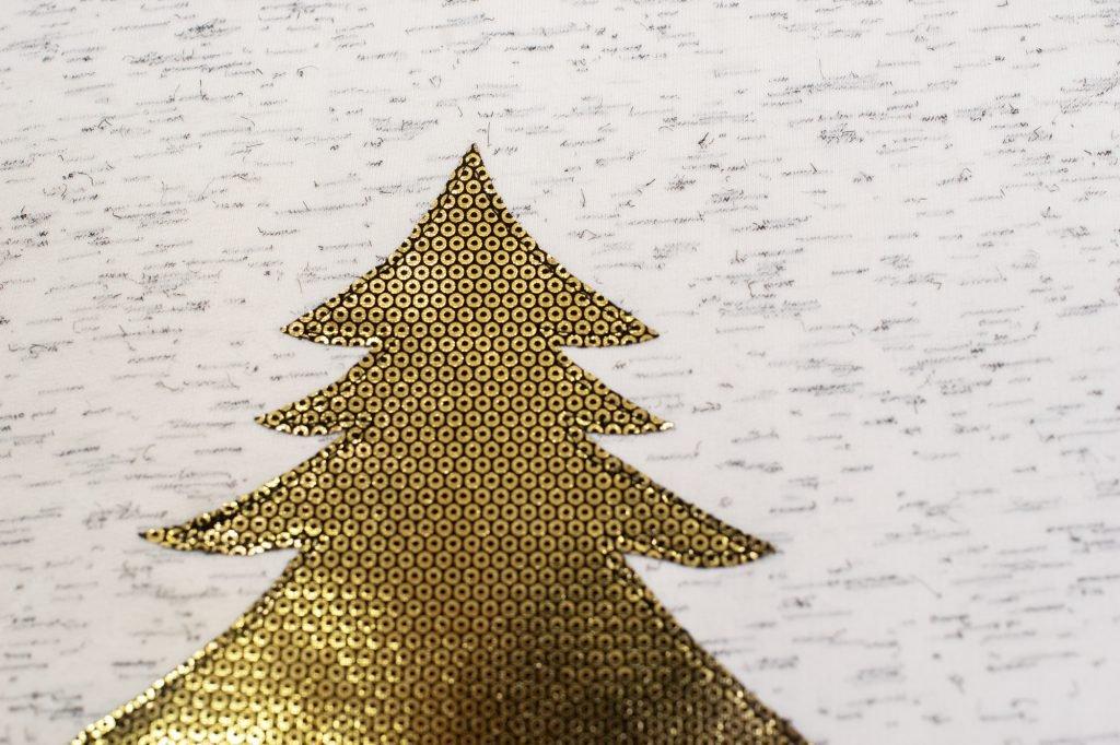 Weihnachtspulli nähen selbst machen