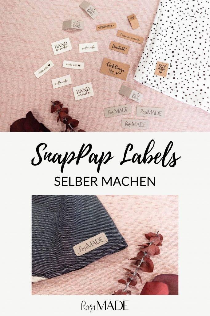 SnapPap Labels selber machen kostenlose Anleitung
