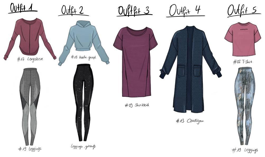 Umstandskleidung nähen für den Herbst